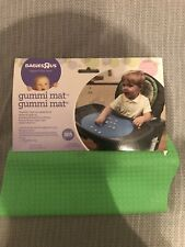 BabiesRus Babies R Us Gummi Mat Bright Green New Nwt for High Chair Table Feed