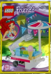 LEGO Friends Mia Ice Cream Cart New & Sealed Foil Pack 561605 Gift