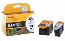 New Kodak 30 Ink Combo Pack (Color & Black) 30B 30C