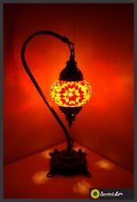 Mosaiklampe orientalische Lampe mosaik Samarkand-Lights Orange