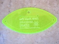Small Orange Peel Template (Circle Magic Plus Football) Missouri Star Quilt Co