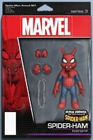 SPIDER-MAN ANNUAL #1 CHRISTOPHER ACTION FIGURE VARIANT (2019)