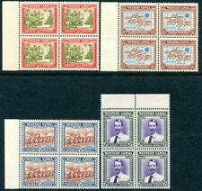 More details for samoa-1939 25th anniversary of new zealand corner set in unmounted mint blocks