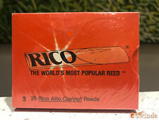 Rico Alto Clarinet Reeds - Box of 25, Strength Number 3