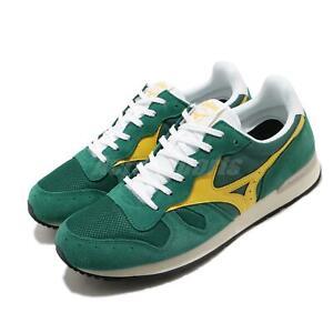 Mizuno GV87 RunBird Green Yellow Men Running Casual Shoes Sneakers D1GA1905-32