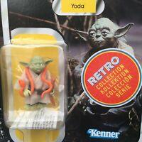 Star Wars Retro Collection The Empire Strikes Back Figure Yoda Disney Hasbro New