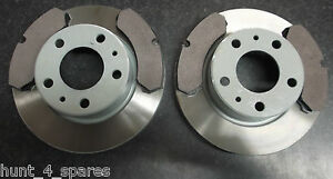 IVECO DAILY 99 - 06 QUALITY JURATEK FRONT BRAKE DISCS AND PADS - SOLID (276MM)