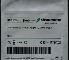 Dental Implant Parts Straumann Drill Sleve 4.5mm(D) X 10mm(H)