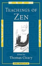 Teachings of Zen, Cleary, Thomas, Good Condition, Book