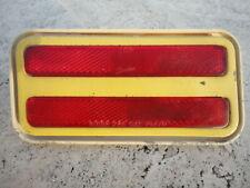 1970-1981 PONTIAC FIREBIRD / TRANS AM LEFT REAR FENDER MARKER RED LIGHT