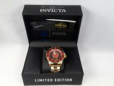 Invicta 26905 DC Comics The Flash Men's Watch - Gold/Black Limited Edition New