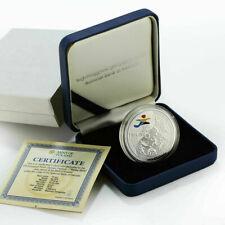 Georgia 10 Lari European Olympics Tbilisi 2015 Silver Proof TOP Collector Coin!!