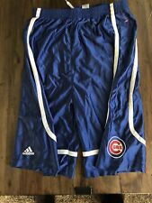 MLB Chicago Cubs Youth L 18/20) Adidas Basketball Style Shorts