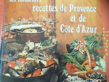 Les meilleures recettes de Provence et de côte d'Azur