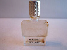 "MOLINARD DE MOLINARD PERFUME BOTTLE - LALIQUE - EMPTY - 2 1/2"" TALL - CR"