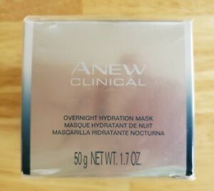NEW SEALED Avon Anew Clinical Overnight Hydration Mask 50g 1.7oz