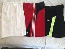 Lot of 3 Nike Jordan Adidas Men's Athletic Running Workout Shorts Size Large XL