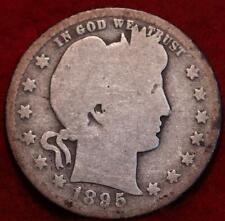 1895-O New Orleans Mint Silver Barber Quarter