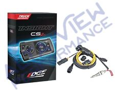 Edge Insight CS2 monitor w/EGT Cable for 1996-2017 GMC Diesel