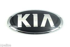 Genuine New KIA BONNET BADGE Hood Front Emblem For Sedona 2015+ & Sportage 2015+