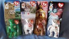NIP McDonalds Happy Meal Toy TY Teenie Beanie Babies All 4 Collector Bears 97/98