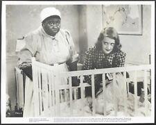 Hattie McDaniel Bette Davis Original 1940s Linen-Backed Promo Photo Great Lie