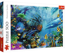 Trefl 500 Piece Jigsaw Puzzle Hidden Treasure