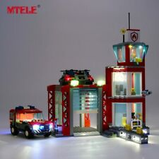 LED Light Up Kit For LEGO 60215 City Series Fire Station Lighting Set bricks Kit