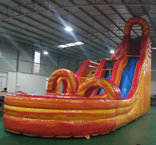 30x15x20 Commercial Inflatable Water Slide Obstacle Course Bounce House Bouncer