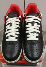 DS NIB Nike Air Force 1 Low INSIDEOUT 312486-002 2006 Black Red Men's 9.5