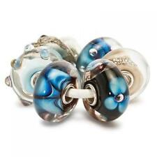 TROLLBEADS 6 Beads in Vetro Set Indaco TGLBE-00037