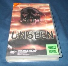 UNSEEN VHS PAL ( UNSEEN EVIL / THE UNBELIEVABLE )