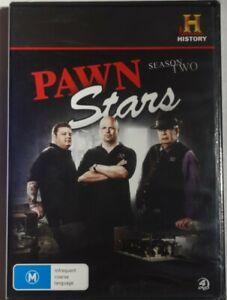 PAWN STARS SEASON 2-  BRAND NEW   4x DVD SET FREE POST!