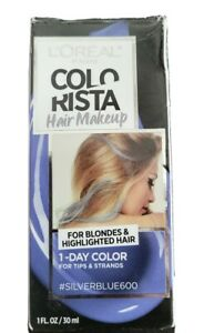 L'Oreal Paris Colorista Hair Color Makeup 1-day Blondes #silverblue600