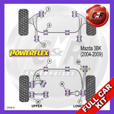 Mazda 3 MPS BK (2004-2009) Non Adjust Powerflex Complete Bush Kit