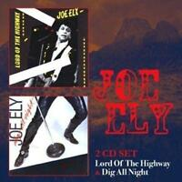 JOE ELY - LORD OF THE HIGHWAY & DIG ALL NIGHT 2CDs (New & Sealed) Country Rock