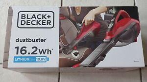 Black+Decker DustBuster 16.2Wh Lithium 1.5AH 10.8v DVA315J