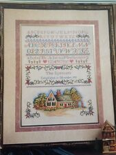 "Elsa Williams""The Cottage Sampler"" Counted Cross Stitch Kit Heritage Collection"