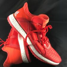 9e6af8433733 Adidas Pure Boost ZG Trainer Red Orange Mens Cross Training Half Shoes  AQ5402