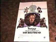 BOYFRIEND MOVIE POSTER '72 TWIGGY KEN RUSSELL