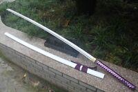 Japanese Two Handed Murasaki Nodachi Odachi Japanese Large Field Samurai Sword