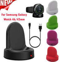 Portable Wireless Charging Dock Cradle Charger For Samsung Galaxy Watch 46/42mm