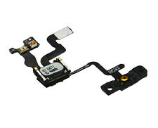 Original Iphone 4s power/lock botón Flex Cable Con Auricular Y Soporte Original