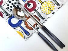 Asian Cutlery, Stainless Spoon & Chopstick Set - Dark Brown, Made in Korea