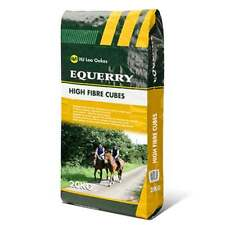Equerry High Fibre Cubes Horse Feed 20kg Low Calorie Equestrian Food
