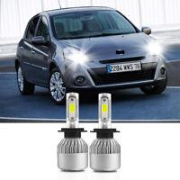 H7 100W COB LED Headlight Bulbs Pair Canbus For Honda Civic MK8 2006-Onwards