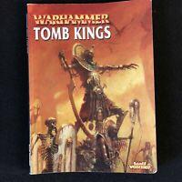 WARHAMMER FANTASY BATTLES TOMB KINGS ARMY BOOK CIRCA 2002 VINTAGE