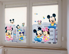 Mickey Mouse Minnie Art Wall Stickers Decals Mural Kids Nursery Home Decor