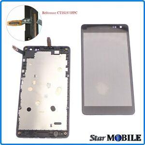 VITRE TACTILE+ECRAN LCD ORIGINAL ASSEMBLER SUR CHÂSSIS MICROSOFT LUMIA 535 (2S)
