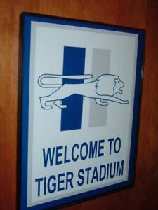 **Detroit Lions Football Throwback Game Room Bar Man Cave Sign